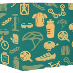Vintage Bicycle Pattern Gift Wrapping Papers