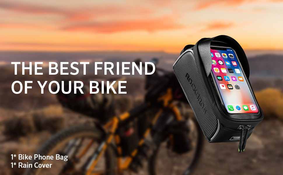 The Rock Bros Bicycle Phone Bag - Gifts for Cycling Enthusiasts