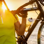 Cycling at the seaside - best cycling hydration pack